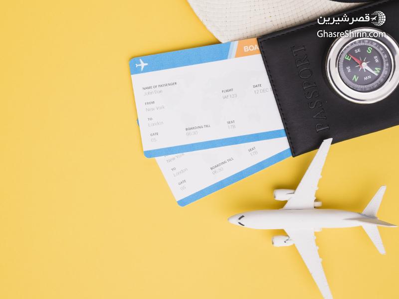 اصطلاحات نوشته شده  بلیط هواپیما