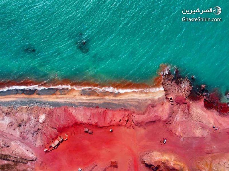 جزیره هرمز در 16 مکان دیدنی ایران