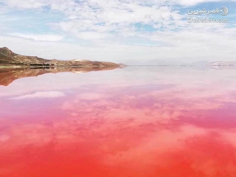 دریاچه مهارلو شیراز مکان دیدنی ایران