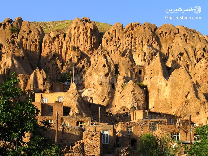 روستای کندوان در 16 مکان دیدنی ایران