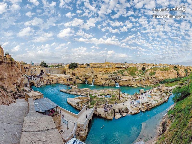 سازه های آبی شوشتر مکان دیدنی ایران
