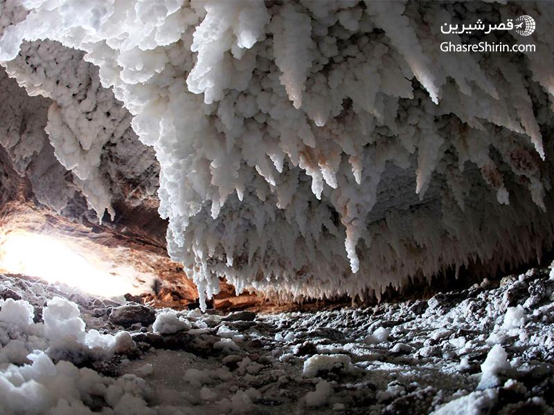 غار نمکدان قشم در 16 مکان دیدنی ایران