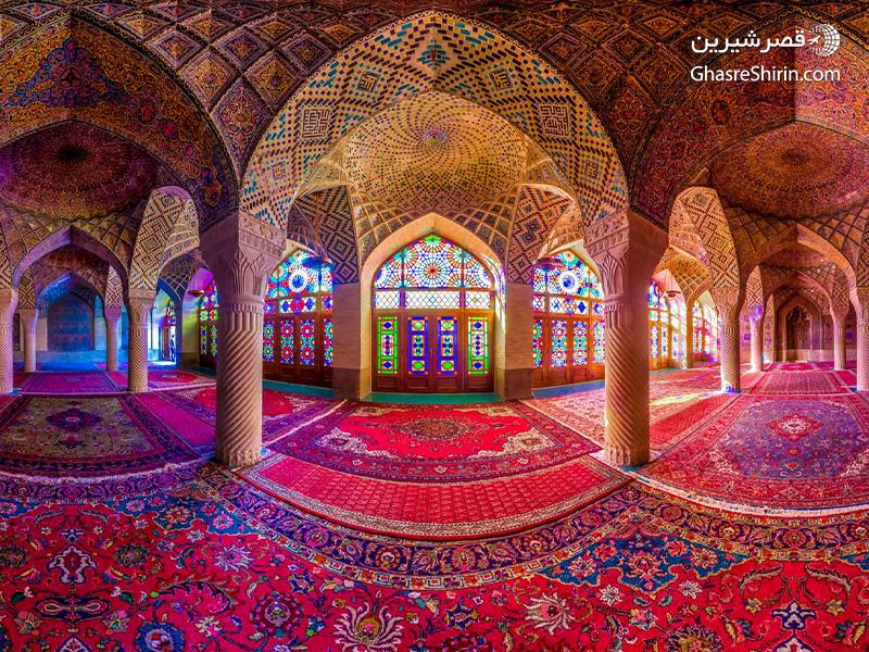 مسجد نصیرالملک در 16 مکان دیدنی ایران
