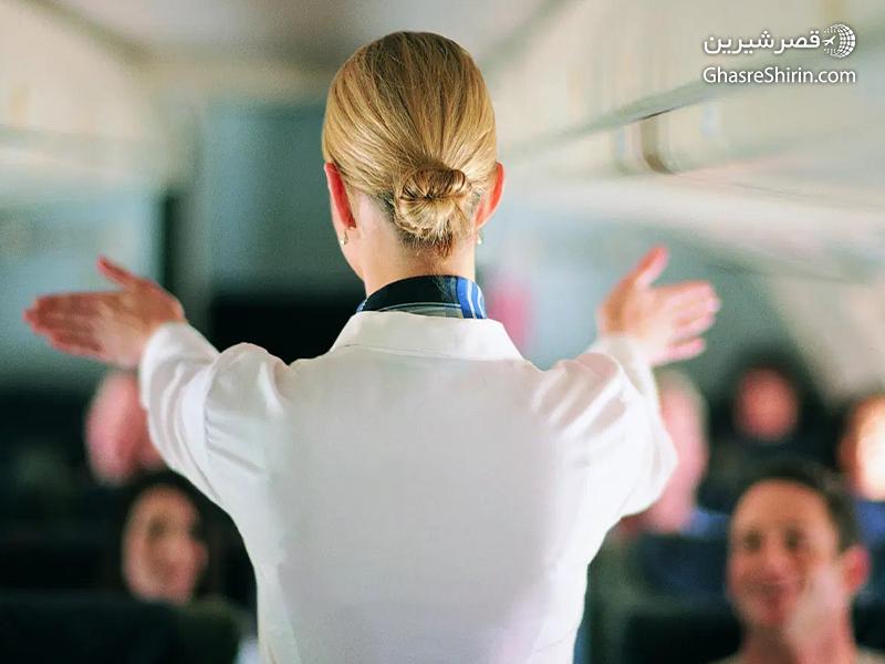 ویژگی های مهماندار هواپیما