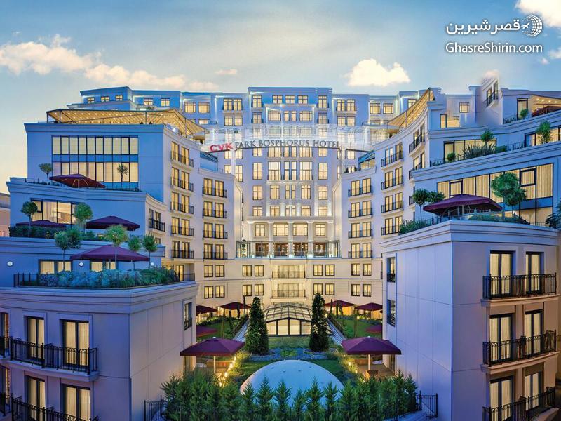 CVK - هتل های لاکچری بسفر استانبول