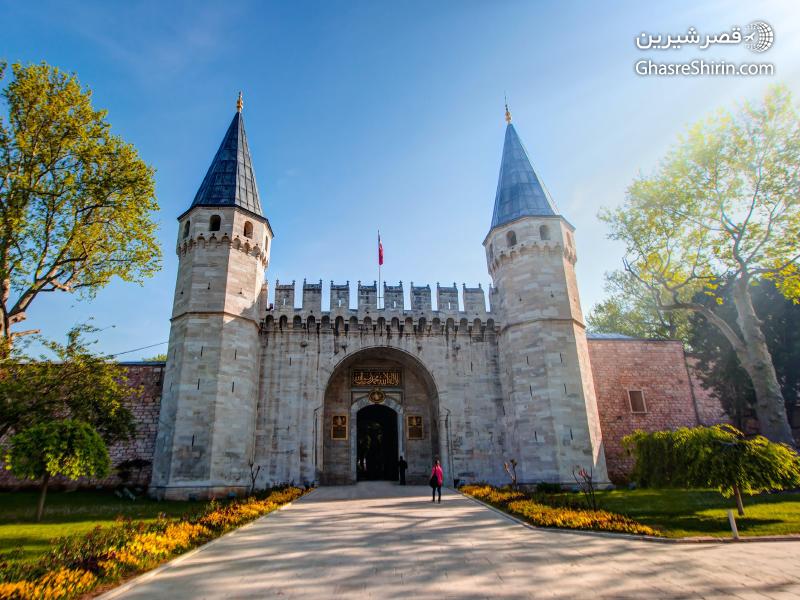 کاخ توپکاپی استانبول ترکیه