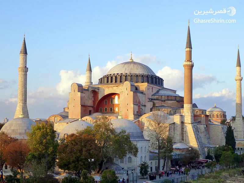 کلیسای ایاصوفیه استانبول ترکیه