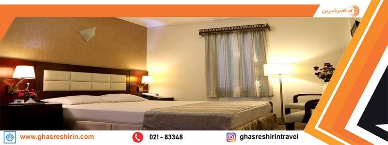 اتاق ها و سوئیت هتل تعطیلات کیش