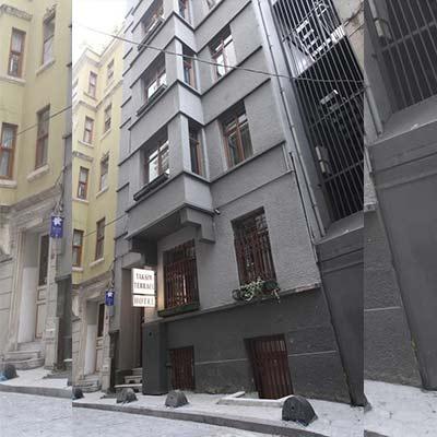 هتل تکسیم تراس استانبول