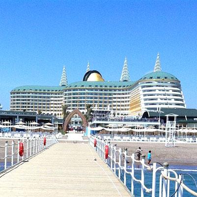 هتل دلفین بی ای گرند ریزورت آنتالیا