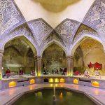 حمام وکیل شیراز مکانی چند منظوره در زمان های گذشته!