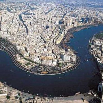 خور دبی، بندرگاهی در قلب شهر دبی