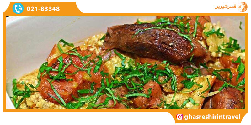 غذاهای تاجیکستان