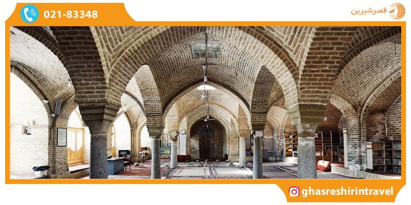 معماری مسجد جامع همدان