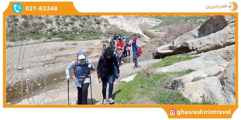 جاذبه های گردشگری هفت حوض مشهد