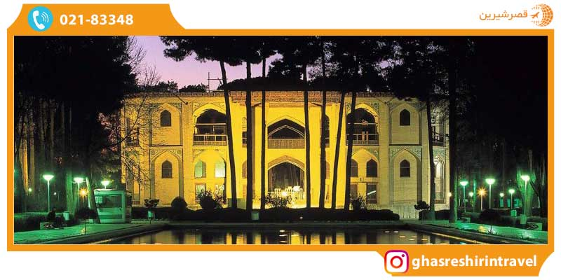 هتل ها و رستوران های نزدیک به کاخ