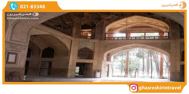معماری کاخ هشت بهشت