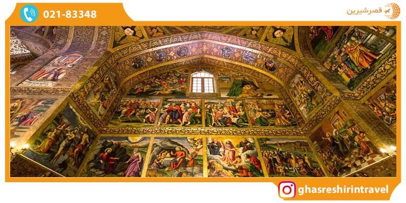 نقاشیهای کلیسای وانک