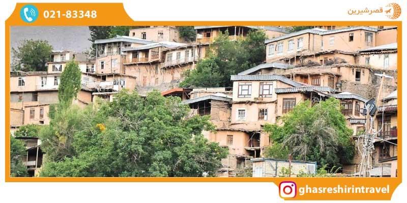 معماری خانه های ماسوله مشهد