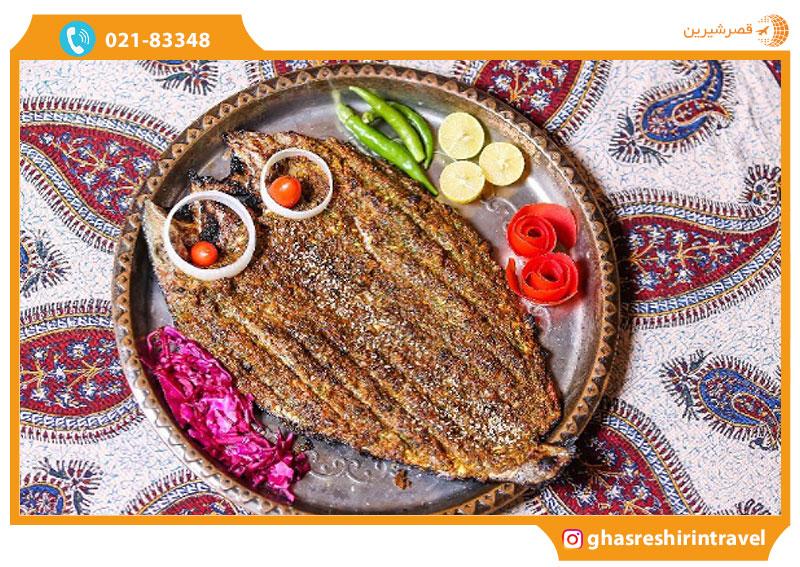 ماهی شکم پر، غذای محلی جزیره مینو