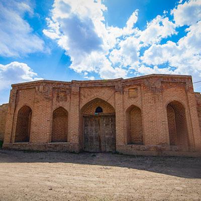تاج آباد، کاروانسرایی مدور و متفاوت در همدان