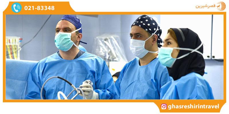 کادر درمان بیمارستان جم تهران