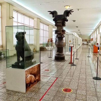 موزهی ملی ایران به روی بازدیدکنندگان گشوده شد