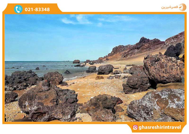 ساحل جزیره لارک