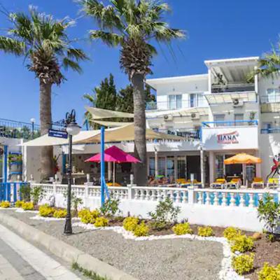 هتل تیانا بیچ ریزورت بودروم (Tiana Beach Resort)