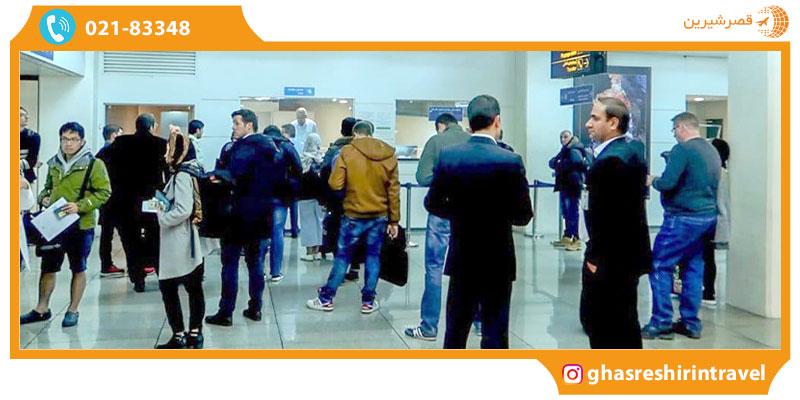 ویزای درمان فرودگاهی در ایران