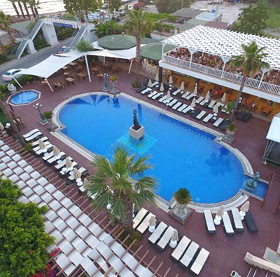 هتل گلدن بیچ بای (Jura Hotels Golden Beach Bodrum)