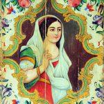 سامانی از نارنج و کاشی و آینه در نارنجستان قوام شیراز