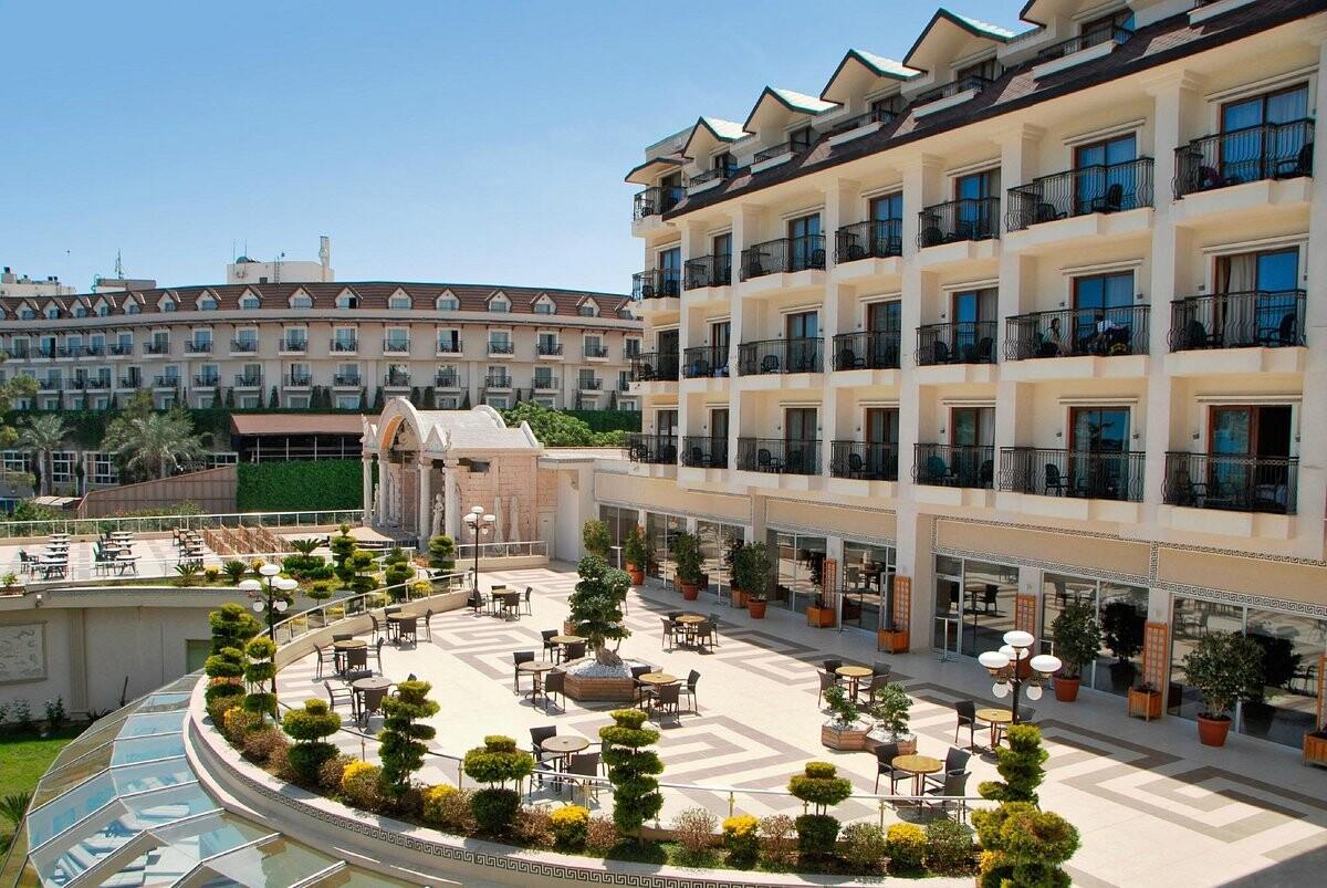 هتل پالمت بیچ آنتالیا
